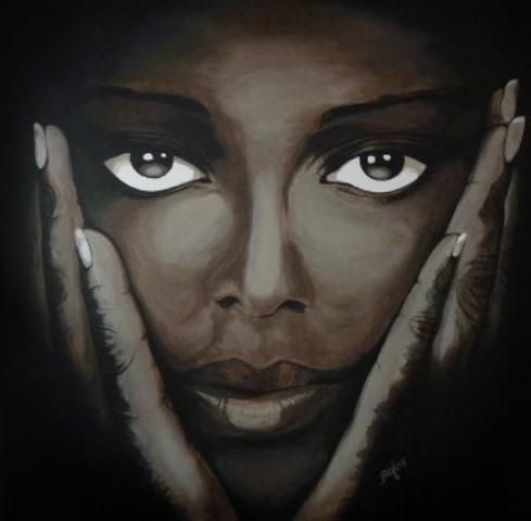 Crédit Photo: http://www.batesartist.com/visage-femme-africaine/