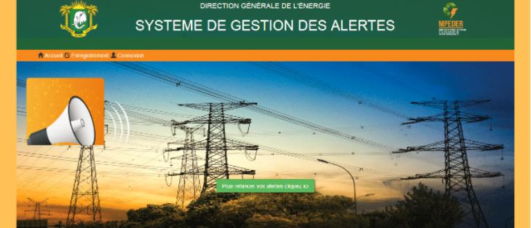 Article : La Direction Génerale de l'Énergie à l'écoute des populations via une application Web