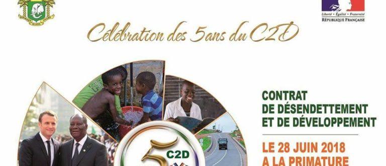 Article : La Côte d'Ivoire célèbre les 5 ans du Contrat de Désendettement et de Développement (C2D)